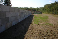 8 Foot Concrete Barrier Walls